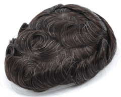 Image of An image of a Premium Quality Fine Mono, with PU Perimeter 100% Indian Hair System 8
