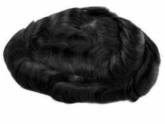 Image of An image of a Premium Quality 100% Indian Hair Undetectable French Lace Stock Hair System 8